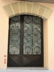 Puerta de calle de forja