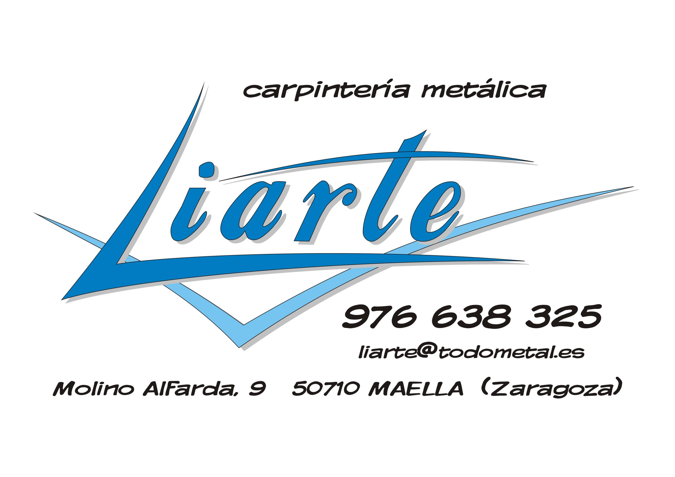 Logotipo de carpintería metálica Liarte